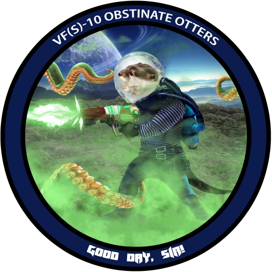 Otter 1 Badge