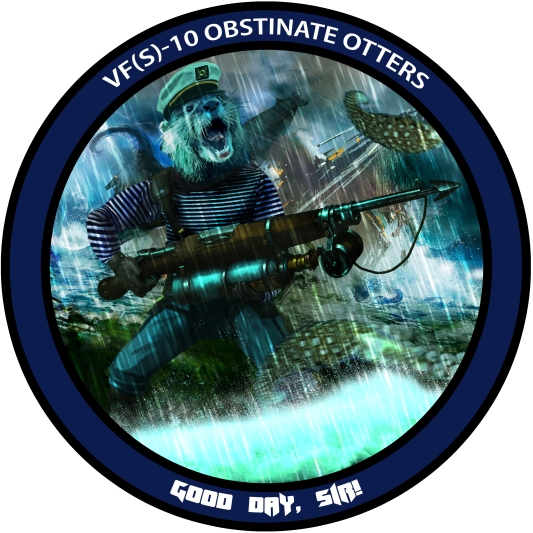 Otter 2 Badge